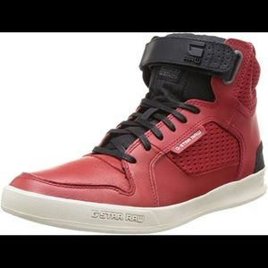 G-Star Shoes - G-Star Red High Tops